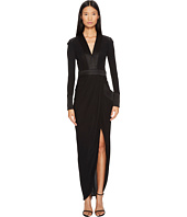 THOMAS WYLDE - Shelly Long Sleeve Jersey Long Dress