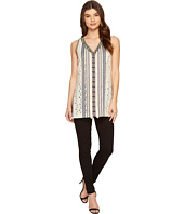 Nicole Miller - Tribal Eyelet Ibiza Tunic Top
