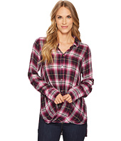 Mod-o-doc - Thistle Long Sleeve Twist Hem Shirt
