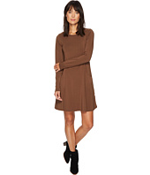 Mod-o-doc - Cotton Modal Spandex Jersey Princess Seamed Dress with Front Pockets