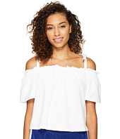 Juicy Couture - Venice Beach Microterry Off the Shoulder Top