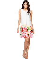 CeCe - Floral Tropics Border Invert Pleat Shift