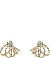 Alexis Bittar - Crystal Lace Orbiting Post Earrings