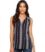 Dylan by True Grit - Vintage Vines Sleeveless Washed Tunic