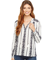 Dylan by True Grit - Vintage Vines Long Sleeve Washed Tunic
