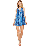 Show Me Your Mumu - Rancho Mirage Lace-Up Tunic Dress