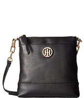 Tommy Hilfiger - Almira Pebble Leather North/South Crossbody