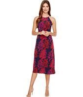Taylor - Fern Print Jersey Midi Dress