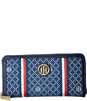 Tommy Hilfiger - TH Serif Signature Large Zip Around