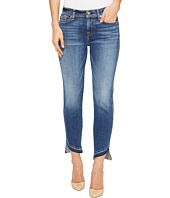 7 For All Mankind - Roxanne Ankle w/ Angled Hem in Serratoga Bay