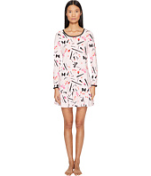 Kate Spade New York - Ruffle Flounce Sleepshirt and Sleepmask Set