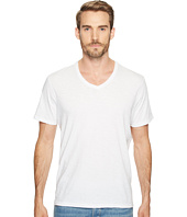 7 For All Mankind - Short Sleeve Raw V-Neck