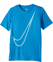 Nike Kids - Dry Big Swoosh Training T-Shirt (Little Kids/Big Kids)