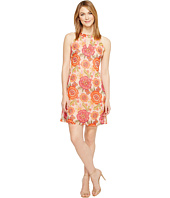 Taylor - Floral Chiffon Shift with Keyhole