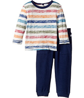 Splendid Littles - Reverse Printed Stripe Shirt and Pants Set (Infant)