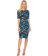 Ellen Tracy - Printed Ponte Dress