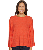Nally & Millie - Long Sleeve Brushed Sweater Top
