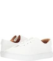 SOLOVIÈRE - Grained Leather Sneaker