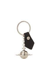 Vivienne Westwood - Round Orb Silver Keyring