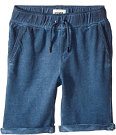 Hudson Kids - Pigment Dye Pull-On Shorts in Malibu Blue (Toddler/Little Kids/Big Kids)