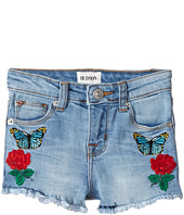 Hudson Kids - Flower Field Shorts in Faded Blue (Toddler/Little Kids)