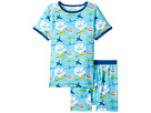 Organic Cotton Short Sleeve Dreamwear Pajama Set (Little Kids/Big Kids)