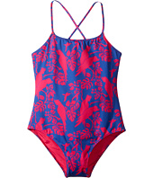Vilebrequin Kids - Cockatoo Print Swimsuit (Big Kids)