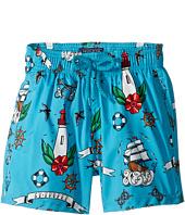 Vilebrequin Kids - Tattoo Sashimi Swim Trunk (Toddler/Little Kids/Big Kids)