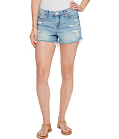 Blank NYC - High Rise Denim Shorts in Rip Off