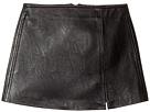 Black Vegan Leather Mini Skirt in Break The Ice (Big Kids)