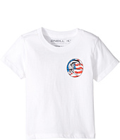 O'Neill Kids - New Glory Screen Short Sleeve Tee (Toddler/Little Kids)