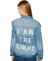 Spiritual Gangster - I Am The Light Denim Jacket
