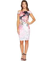 Ted Baker - Emly Painted Posie Off Shoulder Dress