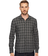 John Varvatos Star U.S.A. - Plaid Snap Front Sport Shirt