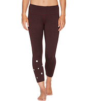 Spiritual Gangster - Stars Power Crop Leggings