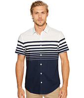 Original Penguin - Short Sleeve Print On Stretch Poplin Woven