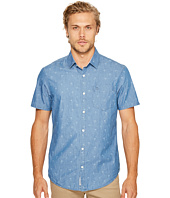 Original Penguin - Short Sleeve Chambray Dobby Woven