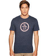 Original Penguin - Tri-Blend Distressed Circle Logo Tee