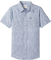 Rip Curl Kids - Seedy Short Sleeve Shirt (Big Kids)