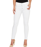 AG Adriano Goldschmied - Farrah Skinny Ankle E Button Up in White