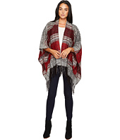 San Diego Hat Company - BSP3535 Soft Woven Poncho with Fringe