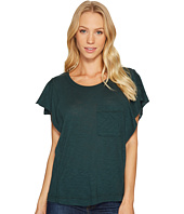 Splendid - Short Sleeve Ruffle Top