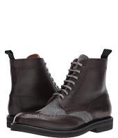 eleventy - Leather/Flannel Wingtip Boot