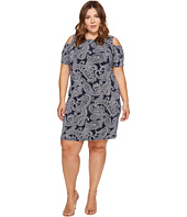 MICHAEL Michael Kors - Plus Size Samara Cold Shoulder Dress
