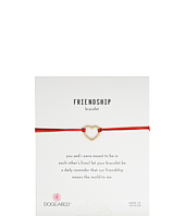 Dogeared - Friendship Medium Open Heart Mixed String Bracelet