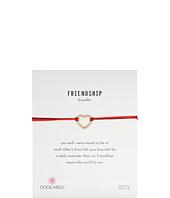Dogeared - Friendship Medium Open Heart Mixed String Bracelet