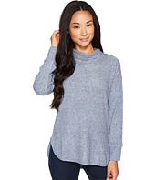 B Collection by Bobeau - Melanie Cowl Neck Top