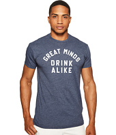 The Original Retro Brand - Great Minds Drink Alike Heathered Short Sleeve T-Shirt