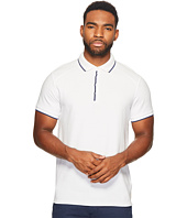 Scotch & Soda - Home Alone Longer Length Chic Polo with Subtle Woven Details