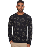 Scotch & Soda - Crew Neck Sweat with All Over Paisley Print
